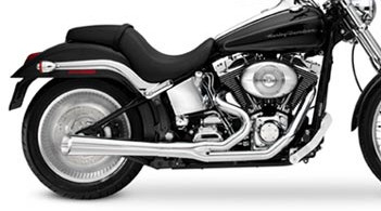 V-Twin Kerker 2:1 SuperMegs - Exhaust - V-Twin - Motorcycle - Shop