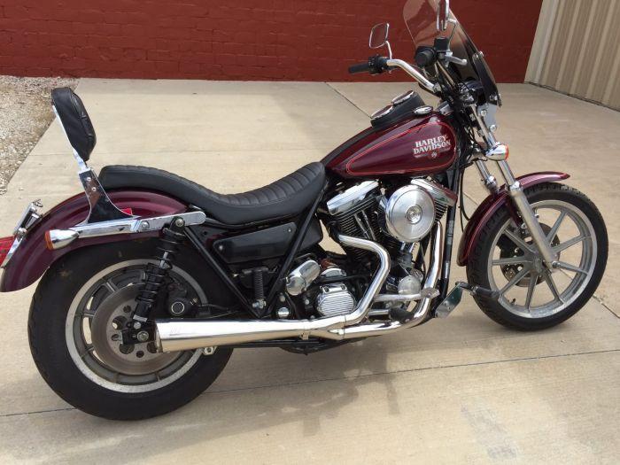 SuperTrapp 825-71356 2:1 Megaphone System High Exit - Harley Davidson FXR  84-94 - Satin S/S