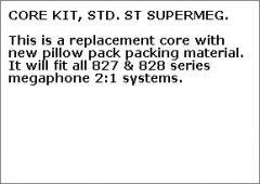 SuperTrapp 100-7093 2:1 SuperMeg System Replacement Core