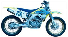 SuperTrapp 815-5454 Bill Werner Racing System w/EXP. - Suzuki RM-Z450 - 05-08