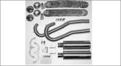 SuperTrapp 815-70754 Bill Werner Racing System XR750 2:2 Step Pipe