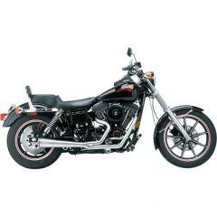 SuperTrapp 825-71358 2:1 Megaphone System - Harley Davidson FXD 91-05 - Satin S/S