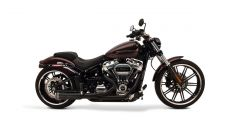 SuperTrapp 827-74684 2:1 FatShots System - Harley Davidson SOFTAIL - 18 - Black