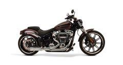 SuperTrapp 828-74684 2:1 FatShots System  - Harley Davidson SOFTAIL - 18 - Chrome