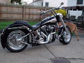 2002 custom Fatboy