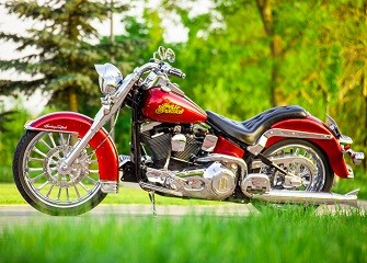 Darek Papińczak Poland - Harley-Davidson Softail Heritage Evo 1340