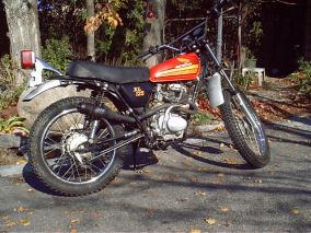1973 Honda XL 125