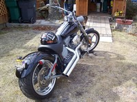 2009 softail ROCKER w/ Side Swipes