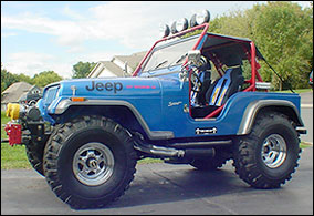 Custom built Jeep CJ