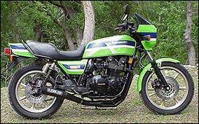 1983 KZ1000R ELR